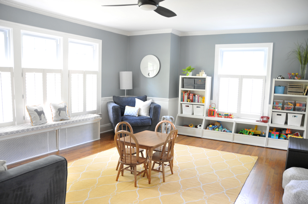 Converting The Dining Room Into A Playroom